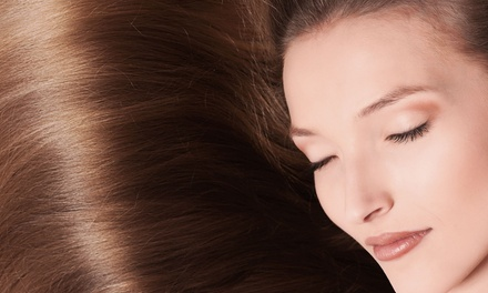 One, Two, or Three Organic ThermaFuse Hair Straightening Treatments at Kenny's Hair Studio (Up to 61% Off)