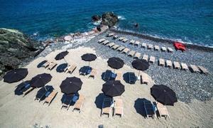 Cala Torcida: Ingresso spiaggia privata e pranzo per 2 persone allo stabilimento balneare Cala Torcida a Varazze (sconto fino a 55%)
