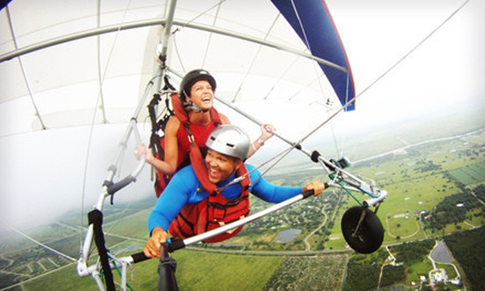 Miami Hang Gliding - The Florida Ridge Sports Air Park: $89 for Tandem Discovery Hang-Gliding Flight from Miami Hang Gliding in Clewiston ($179 Value)