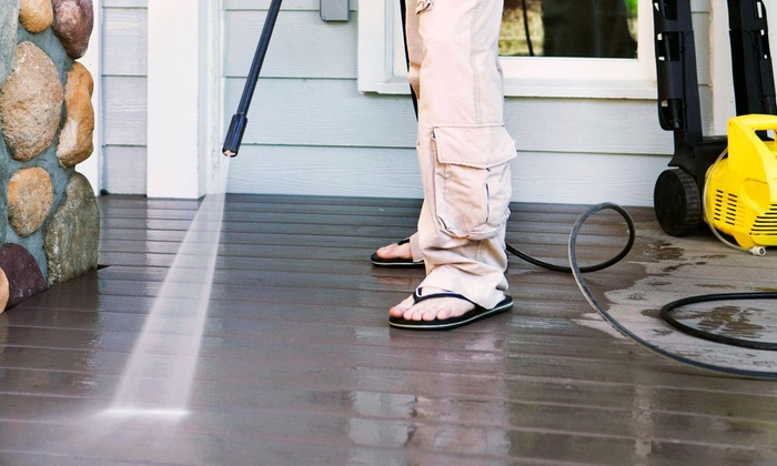 Under Pressure Exterior Cleaning - Phoenix: Pressure Washing from Under Pressure Exterior Cleaning (55% Off)