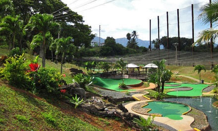 18-Hole Round of Mini Golf for 4 or Three-Hour Party for 25 at Bay View Mini-Putt and Zipline (Up to 50% Off)
