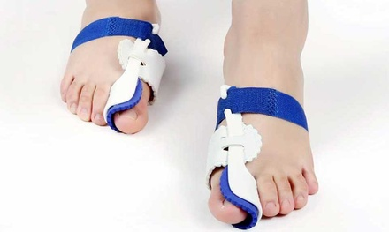 One, Two or Three Pairs of Orthopaedic Foot Bunion Correctors