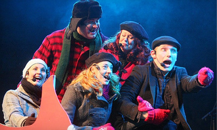 "Oh Canada Eh? Dinner Show's ""Holly Jolly Christmas!"" - Oh Canada, Eh? Theatre: $29 for Oh Canada Eh? Dinner Show's ""Holly Jolly Christmas"" at Oh Canada Eh? Dinner Show Theatre (Up to $60.91 Value)"