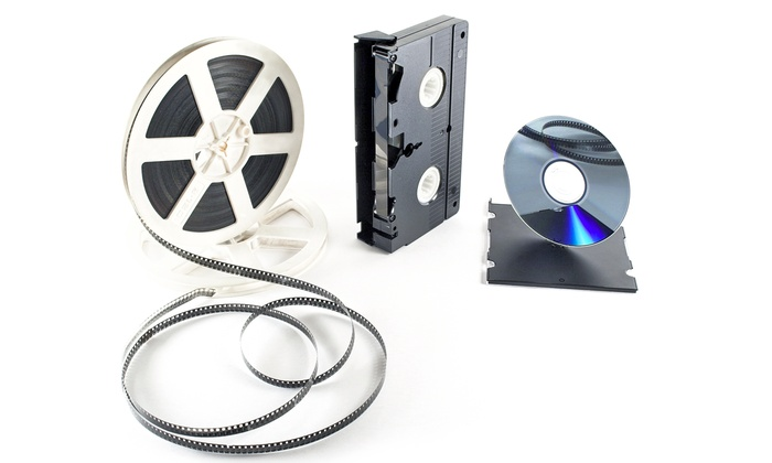 Click Media Services: $40 for One Media-Digitization Service from Click Media Services ($80 Value)