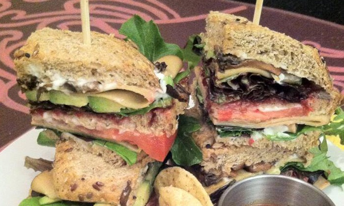 Aside of Heart - Downtown Phoenix: $20 for Two Groupons, Each Good for $20 Worth of Healthy Vegan Food at Aside of Heart ($40 Value)