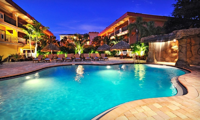 null - Tampa Bay Area: Stay at Coconut Cove Resort in Clearwater, FL. Dates Available into December.