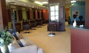 Q Salon & Spa: Women's Haircut with Conditioning Treatment from Q Salon & Spa (55% Off)