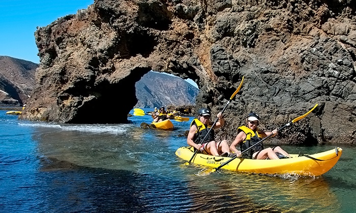 Blue Ocean Kayaking - Channel Islands Harbor: $149 for a Guided Kayak Tour of Anacapa Island from Blue Ocean Kayaking ($250 Value)