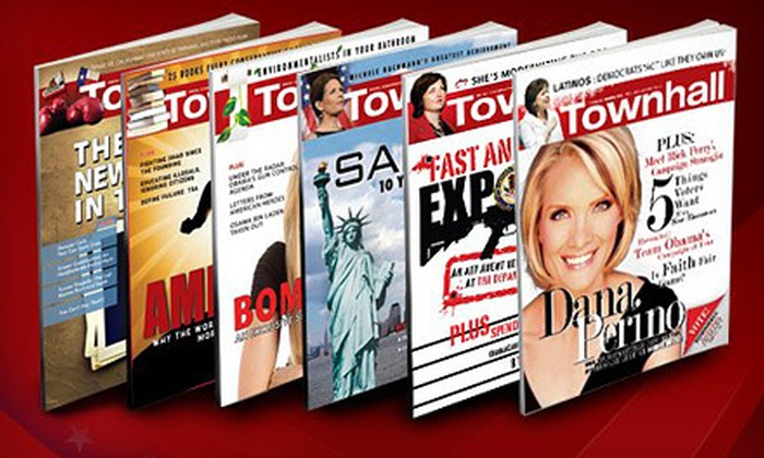 """""""Townhall Magazine"""": $17 for a One-Year Subscription to """"Townhall Magazine"""" ($34.95 Value)"""