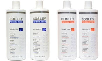 Bosley Revive and Defense Shampoo and Conditioner