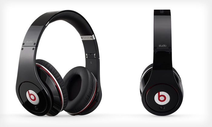 Beats by Dr. Dre Studio Headphones: $249.99 for Beats by Dr. Dre Studio Headphones in Black ($299.95 List Price). Free Shipping and Returns.
