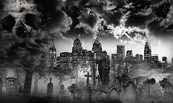 Grim Philly - Center City East: Paranormal Tour for Up to Four from Grim Philly (Up to 59% Off). Four Options Available.