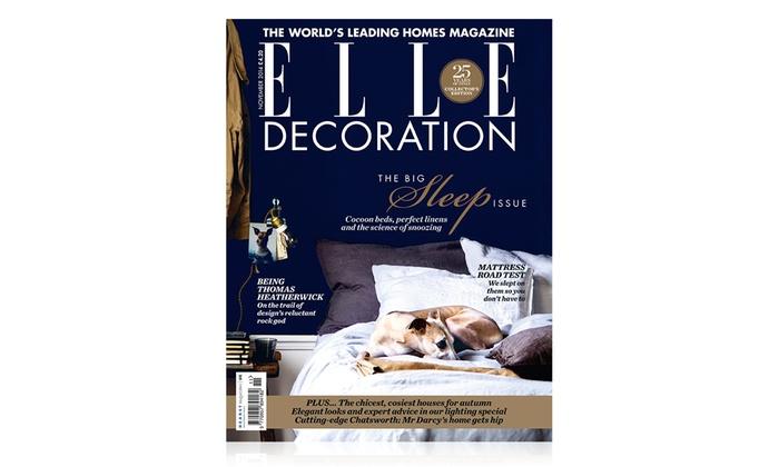 Elle decoration subscription groupon goods for Elle magazine this month
