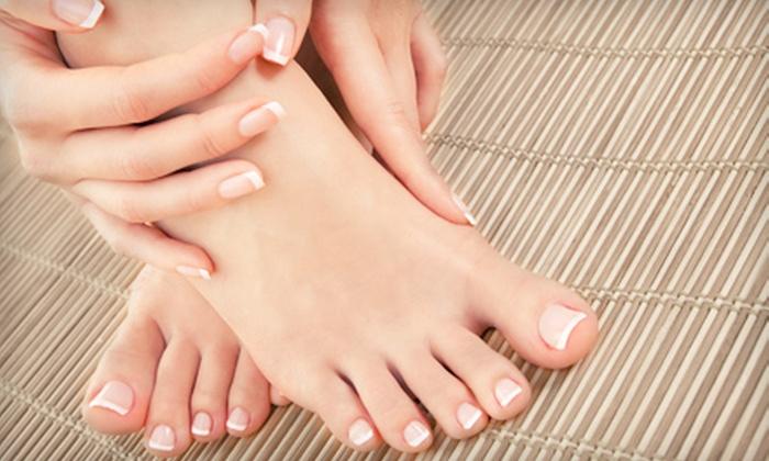 B' Polished Salon - Broken Arrow: Spa Manicure, Spa Pedicure, or Both at B' Polished Salon (Up to 52% Off)