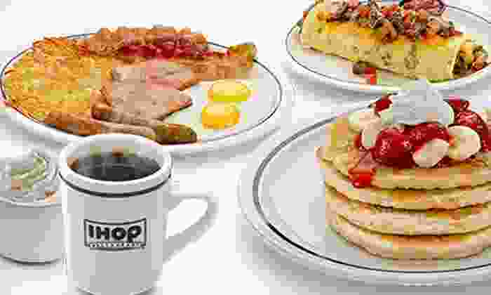 IHOP - Multiple Locations: $10 for Two Groupons, Each Good for $10 Worth of Pancakes, Burgers, and American Food at IHOP ($20 Value)