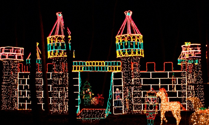 Holiday Light Show - Girl Scouts of Suffolk County Holiday Light Show: $15 for Admission for One Car to Holiday Light Show ($23 Value). Two Options Available