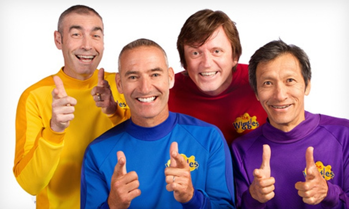 The Wiggles  - Downtown San Jose: The Wiggles Concert at San Jose Civic on July 22 at 3 p.m. (Up to 49% Off). Two Options Available.