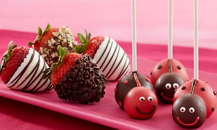 "$15 for $30 Worth of Gourmet Dipped Strawberries and Treats from Shari""s Berries"