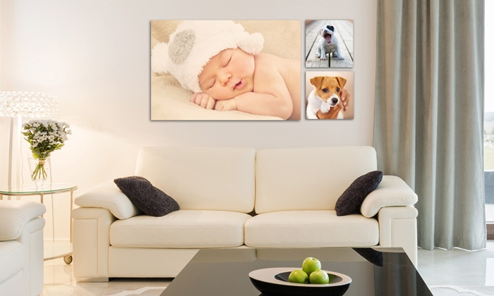 """CanvasOnSale: One 8""""x8"""", 24""""x20"""", or 36""""x24"""" Custom Canvas Print from CanvasOnSale (Up to 85% Off)"""
