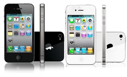 Apple iPhone 4S in Black or White (GSM OEM Sim Free Never Locked) (Refurbished). 16GB or 32GB.