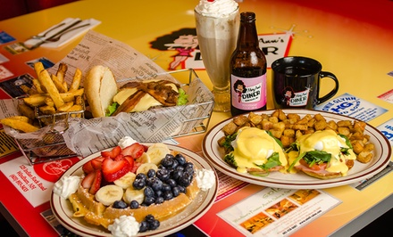 Diner Food for Breakfast or Lunch at Maryann's Diner (Up to 50% Off)
