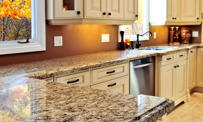 $1,799 for Up to 40-Square-Foot Granite Countertop from Flooring & Granite By Silvas ($3,750 Value)