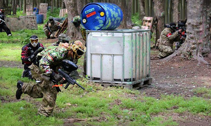 QuickShot Paintball - Shamong: Paintball with Equipment for One or Two at QuickShot Paintball (Up to 56% Off)