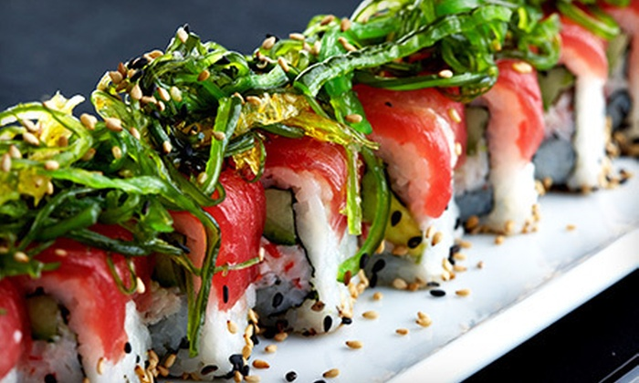 Min Ghung Asian Bistro - Glastonbury Center: $10 for $20 Worth of Sushi and Japanese and Korean Cuisine at Min Ghung Asian bistro