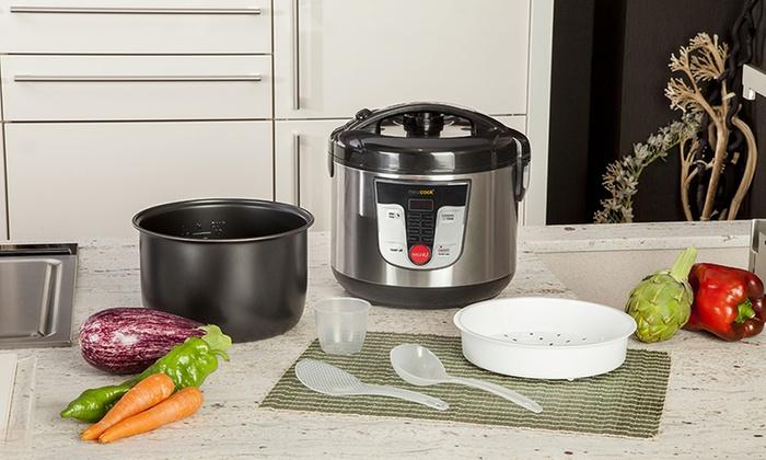 Robot de cocina programable newcook groupon goods for Robot cocina programable