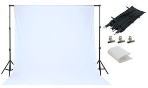 Photo Backdrop, Stand and Cover