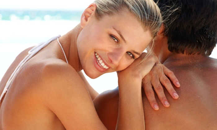 Taylored Tans - Lewisville Valley: One, Two, or Three Organic Airbrush Tans at Taylored Tans (Up to 67% Off)