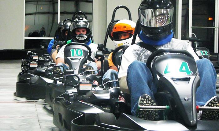 Bluegrass Indoor Karting - East Louisville: One, Two, or Three Races at Bluegrass Indoor Karting (39% Off)