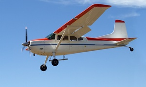 Aviation Express Inc: Learn-to-Fly Intro Flight or Sightseeing Tour from Aviation Express Inc (Up to 55% Off)