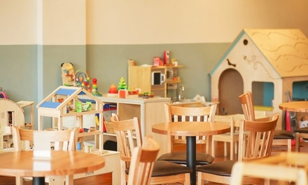 Playtime for One or Two Children or Private Party for Up to 20 Kids at Small Talk Family Cafe (Up to 40% Off)