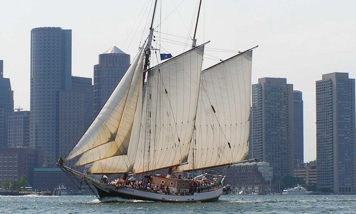 Liberty Fleet of Tall Ships - North End: $18.25 for a Boston Harbor Tall Ships Sail from Liberty Fleet of Tall Ships (Up to $42 Value)