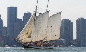 Liberty Fleet of Tall Ships: $18.25 for a Boston Harbor Tall Ships Sail from Liberty Fleet of Tall Ships (Up to $42 Value)