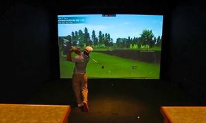 Bulrush Golf Club: Two- or Four-Hour Golf-Simulator Session at Bulrush Golf Club (45% Off)