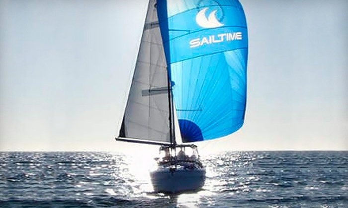 SailTime Virginia Beach - Willough Bay: Three-Hour Chartered Sailboat Cruise for Two or Four from SailTime Virginia Beach (Up to 51% Off)