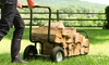 Can-Do Convertible Rolling Firewood Cart: Can-Do Convertible Rolling Firewood Cart