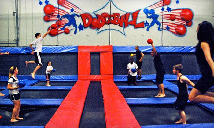Jump America - Gurnee: Two Hours of Indoor Trampoline Jumping for Two Monday–Thursday or Friday–Sunday at Jump America (Up to 55% Off)