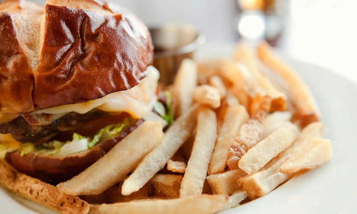 Upper Deck Tavern - Moraine: $11 for $22 Worth of Burgers, Steaks, and Wings at Upper Deck Tavern