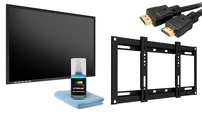 5-Piece HDTV Mounting Kit: 5-Piece HDTV Mounting Kit for 23–42 In. TVs. Free Shipping and Returns.
