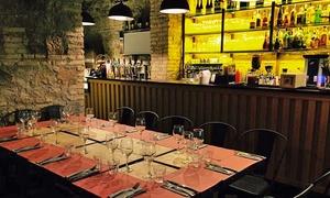 Ferro & Cuoio: Menu con pinsa a scelta, dolce e birra (sconto fino a 73%)
