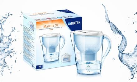 brita marella water filter jug groupon goods. Black Bedroom Furniture Sets. Home Design Ideas