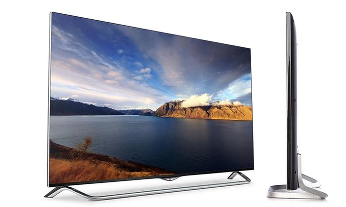 "LG 55"" LED 4K Ultra HD Smart TV   Groupon Goods"