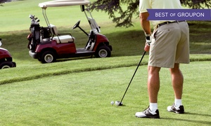 Centennial Golf Club: Round of Golf for Two or Four with Cart Rental and Range Balls at Centennial Golf Club (Up to 38% Off)
