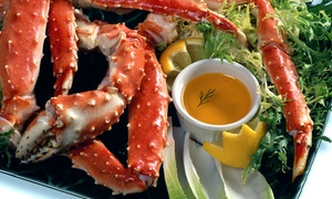 Riverview Raw Bar & Chill: Seafood Meal for Two or Four with Drinks at Riverview Raw Bar & Chill (Up to 39% Off)