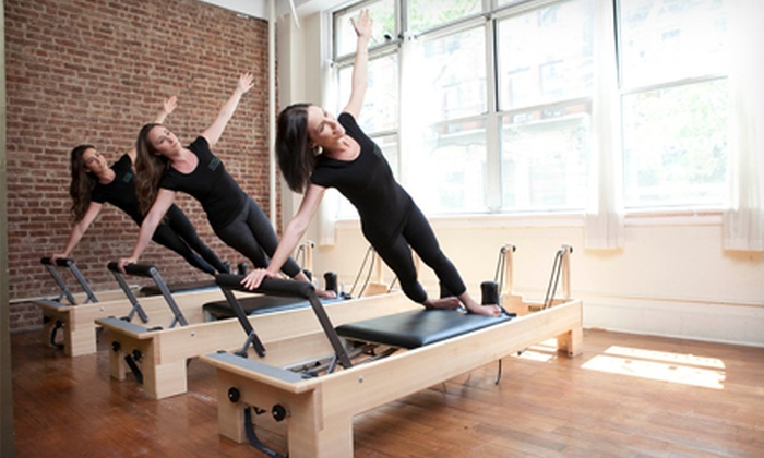 Gramercy Pilates Fitness - Flatiron District: Six Ultimate Mat Classes or Four Reformer/Tower or EXO Chair Classes at Gramercy Pilates Fitness (Up to 58% Off)