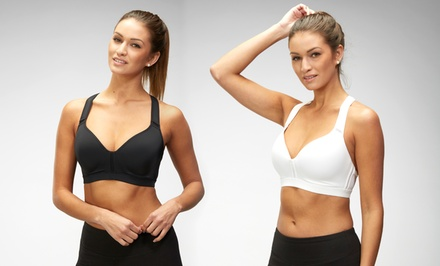 Marika Lift and Shape Sports Bra 2-Pack in Black and White