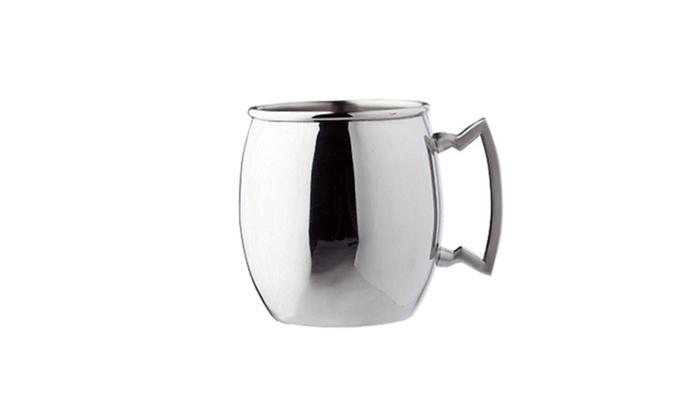Old Dutch Stainless Steel Moscow Mule Mug: Old Dutch 16 oz. Stainless Steel Moscow Mule Mug with Stainless Steel Handle. Free Returns.